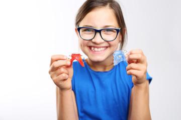Elastyczny aparat ortodontyczny